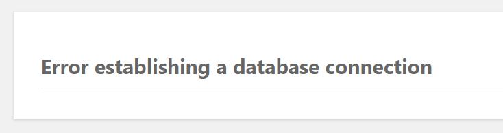 "Enabling CloudLinux CageFS generates ""error establishing a database connection"" on websites"